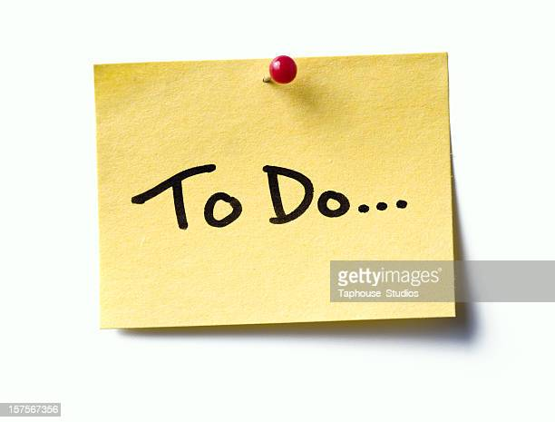 to do...  post-it. - to do list stock pictures, royalty-free photos & images