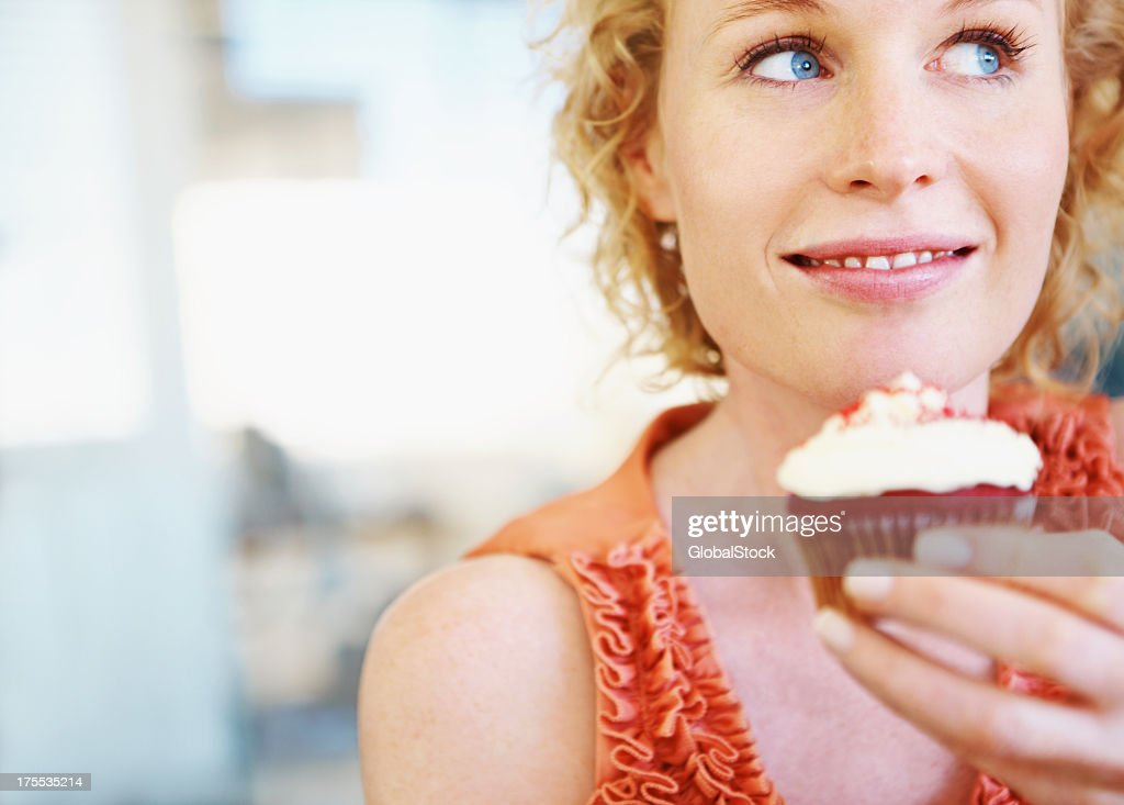 To eat or not : Stock Photo
