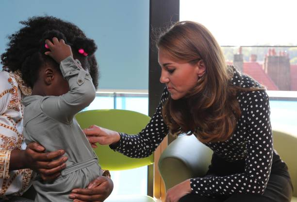 GBR: The Duchess Of Cambridge Visits The Family Nurse Partnership