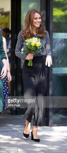 To further her research and engagement with the Early Years sector Catherine Duchess of Cambridge visits Sunshine House Children and Young Peopleâs...