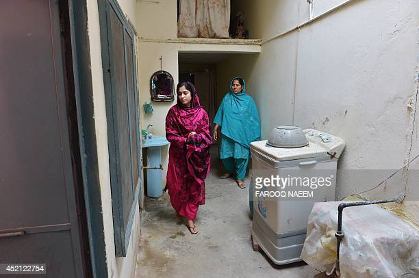 To go with AFP story PakistanwomenrightsprostitutionsocialUAEFEATURE by Khurram Shahzad In this photograph taken on May 8 young woman Zunera who was...