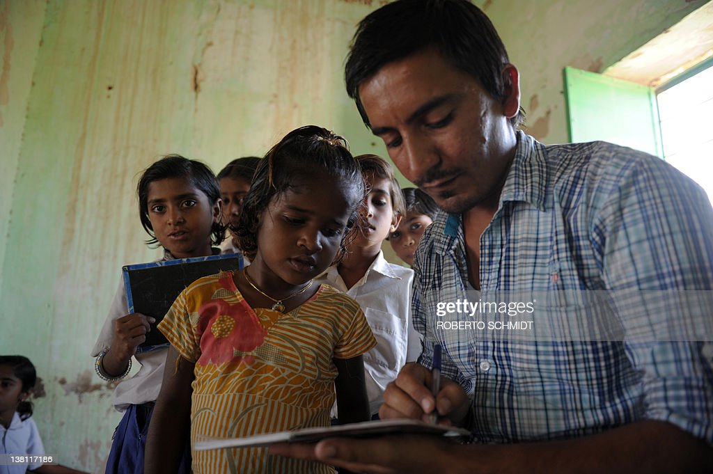 To Go With India-Women-Children-Crime By Rupam Nair A School Girl Has News Photo -6610