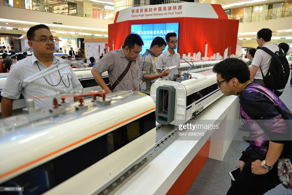 INDONESIA-JAPAN-CHINA-INVESTMENT-RAIL : News Photo