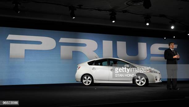To go with profile story JapanautocompanyrecallToyotaPrius In a file picture taken on January 12 2009 The 50mileper gallon 2010 Toyota Prius is...