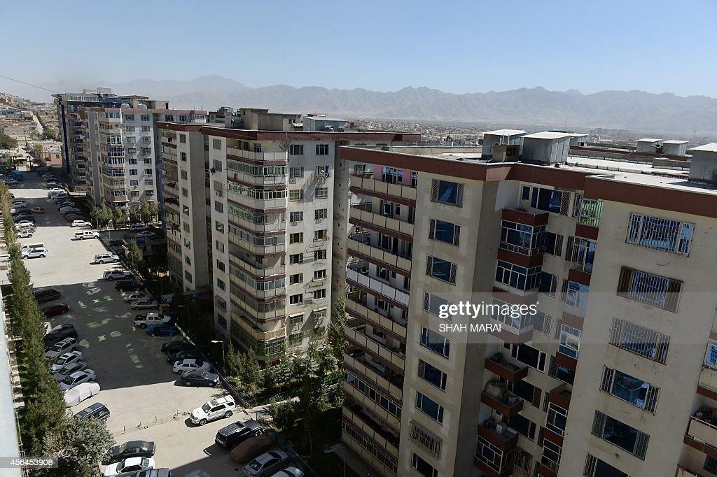 AFGHANISTAN-ELECTION-PRESIDENCY-ECONOMICS : News Photo