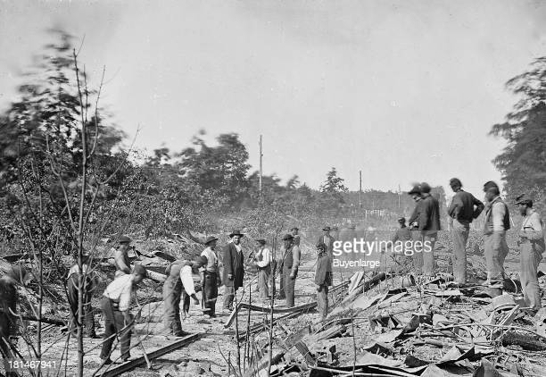To halt the flow of supplies to Union forces on the Orange Alexandria RR Maj John S Mosby CSA destroyed a train near here on 30 May 1863 Removing a...
