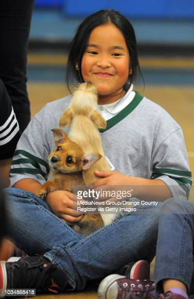 To help promote the upcoming 23rd annual America's Family Pet Expo at the Orange County Fairgrounds on April 20-22, children at the Long Beach Boys &...