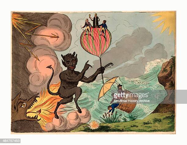 To His Royal Highness Fredrick Duke Of York, This Plate Of Satan Holding Th Prepondrence Of Power Or Bounaparte's Threat, Is Most Humbly Inscribed,...