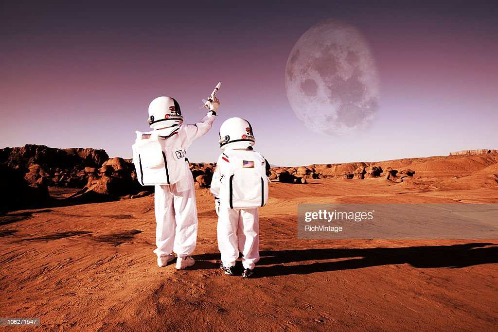 To Infinity and Beyond! : Stock Photo