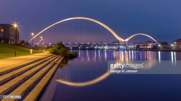 to infinity and beyond - stockton on tees stock pictures, royalty-free photos & images