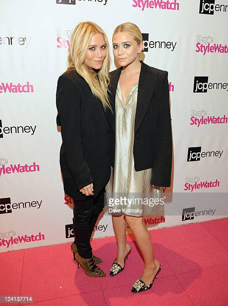 """To kick-off NY Fashion Week, Mary-Kate Olsen and Ashley Olsen attend jcpenney and People StyleWatch's """"Miss for a Must"""" event at the jcpenney store..."""