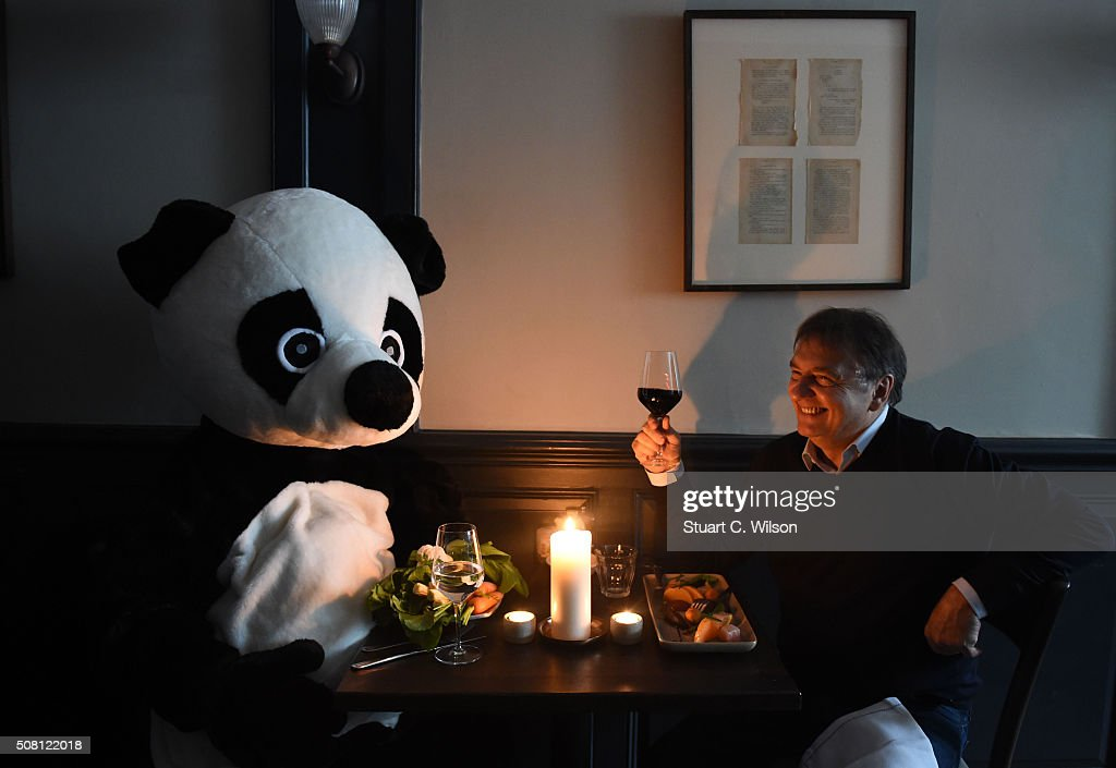 Raymond Blanc Sparks 'Pandamonium' In Race To Book Earth Hour Candlelit Dinner : News Photo