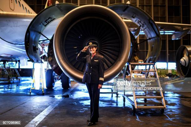 To mark the occasion of International Women's Day on March 8 2018 AFP presents a series of 45 photos depicting women performing roles or working in...