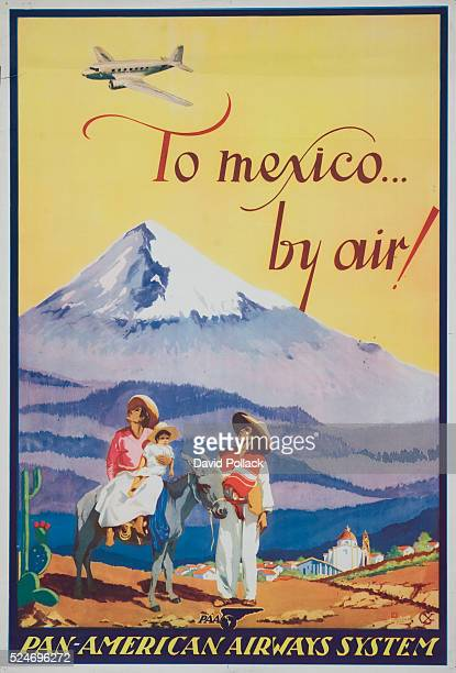 To Mexicoby Air Poster