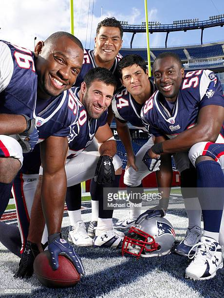 Adalius Thomas Mike Vrabel Junior Seau Tedy Bruschi and Rosevelt Colvin