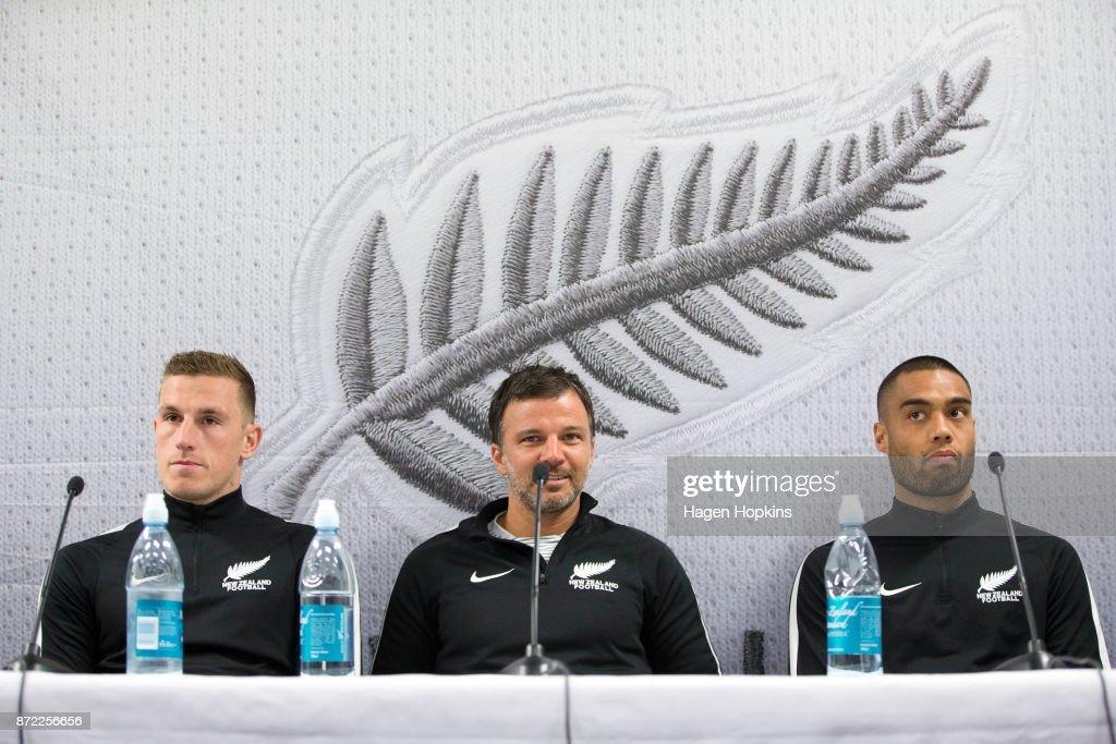 New Zealand All Whites Training Session