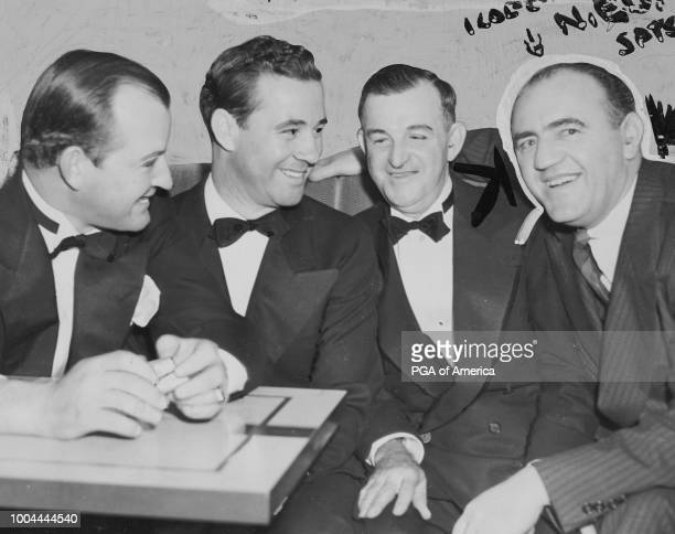 L to R Ed Dudley George Jacobus Bill Maguire Tom Walsh pose for a photo in 1939