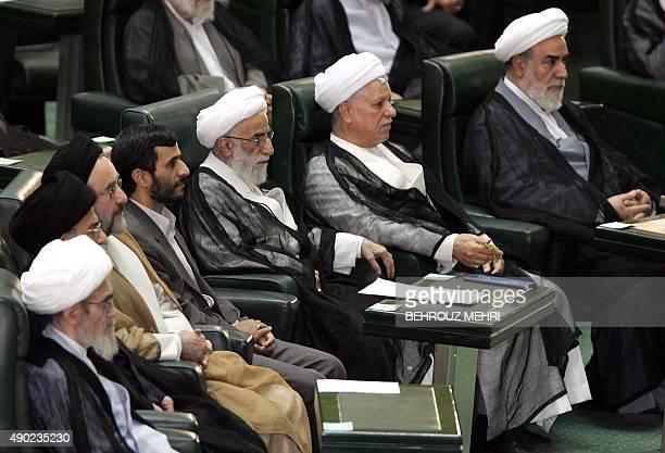 Head of the Council of Experts Ayatollah Ali Meshkini Iran's judiciary chief Ayatollah Mahmoud Hashemi Shahroudi Former President Mohammad Khatami...