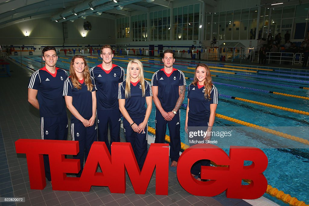 Announcement of Swimming Team Athletes Named in Team GB for the Rio 2016 Olympic Games