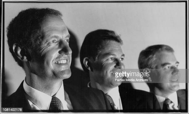 L to R John Schobert MD Pioneer with Geoff Kleeman Chief financial exec and Ian Blackburne AmpolThe building products and petroleum group Pioneer...
