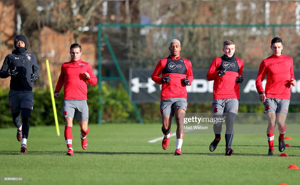 Southampton Training Session