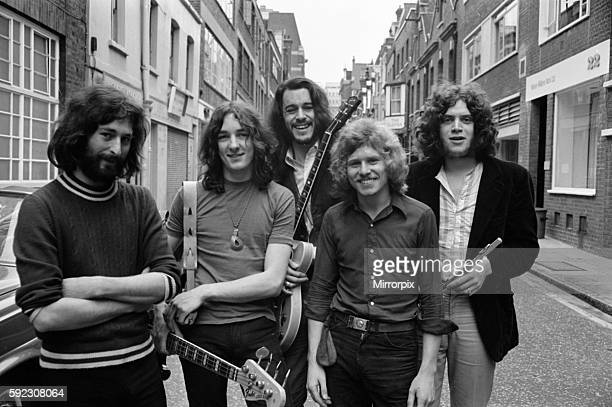 L to R Richard Davies Roger Hodgson Richard Palmer Robert Millar and David Winthrop 12th August 1970