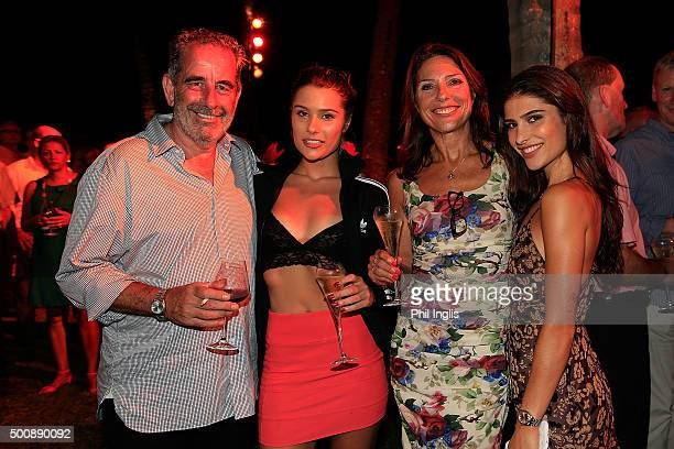 L to R Sam Torrance of Scotland Anouska Torrance Suzanne Torrance and Phoebe Torrance at the ProAm cocktail party ahead of the MCB Tour Championship...