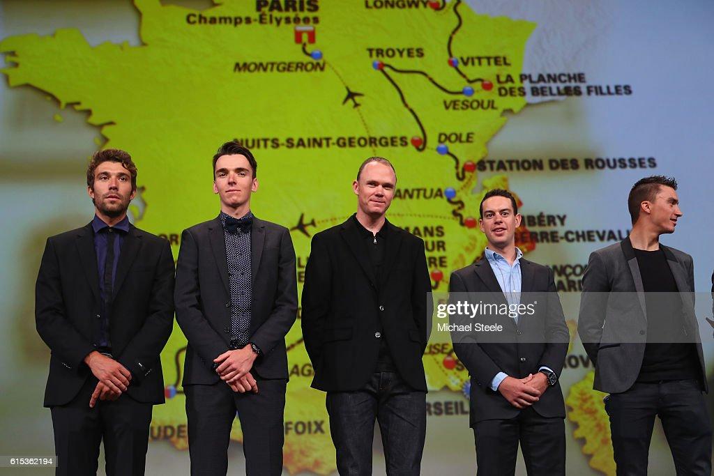 Le Tour de France 2017 Route Announcement
