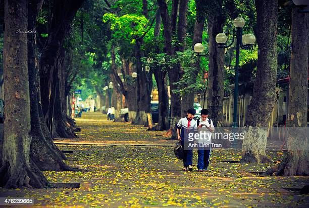 To remember my childhood in peaceful city - Hanoi, Vietnam