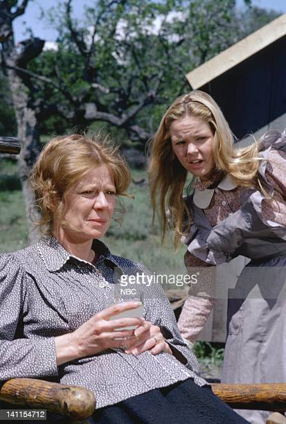 PRAIRIE To Run and Hide Episode 7 Pictured Collin Wilcox Paxton as Beth Novak Melissa Sue Anderson as Mary Ingalls Photo by Ted Shepherd/NBCU Photo...