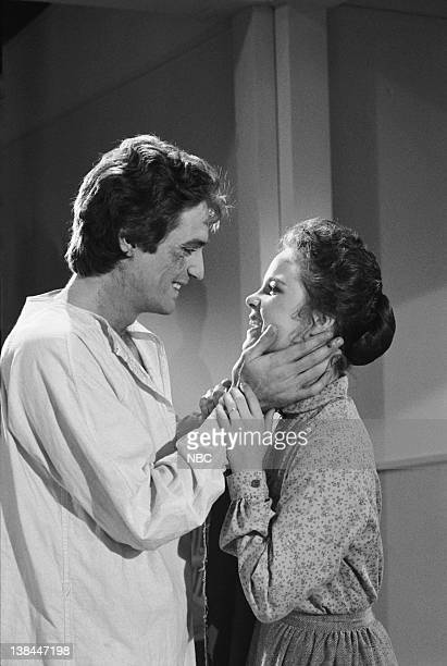 PRAIRIE To See the Light Part 1 Episode 10 Aired 12/1/80 Pictured Linwood Boomer as Adam Kendall Melissa Sue Anderson as Mary Ingalls Kendall