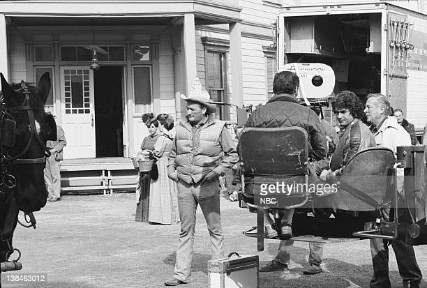 PRAIRIE 'To See the World' Episode 23 Aired Pictured Director Michael Landon as Charles Philip Ingalls unknown crew