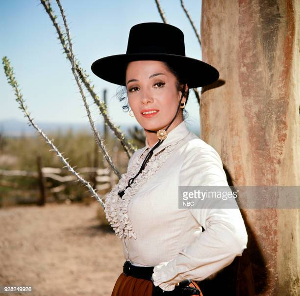 CHAPARRAL To Stand for Something More Episode 6 Pictured Linda Cristal as Victoria Montoya Cannon