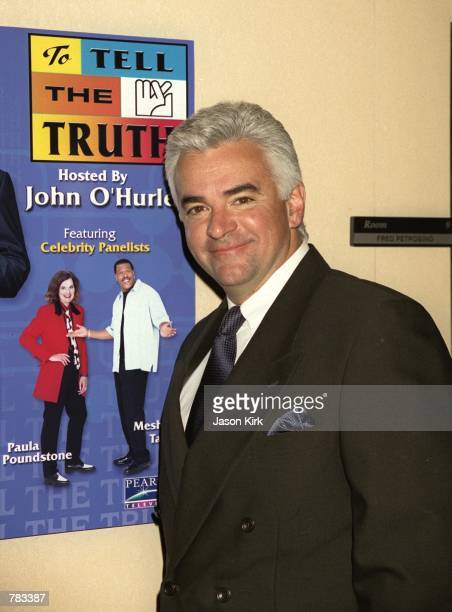 To Tell the Truth host John O''Hurley attends The National Association of Television Program Executive Conference January 23 2001 in Las Vegas NV