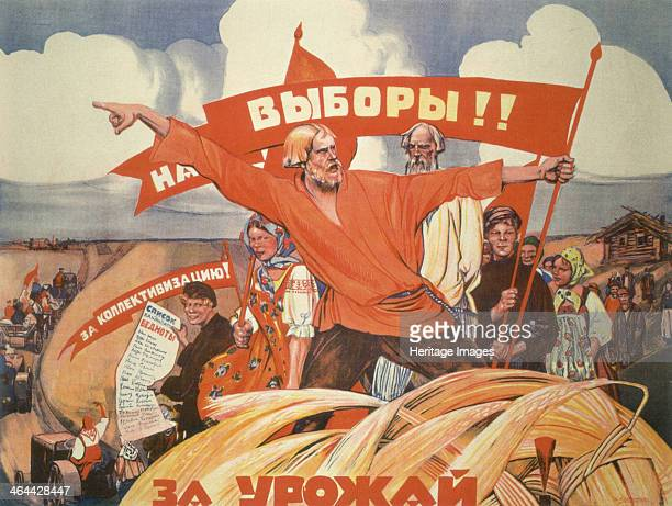 To the Elections For Collectivisation For the harvest Found in the collection of the Russian State Library Moscow