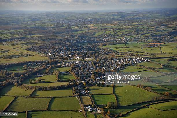 To the north East of Plymouth on the south western edge of Dartmoor National Park is the Devon town of city of Wells on 31st October 2008