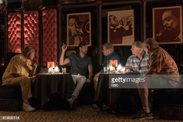 NEVER 'To the Sahara and Back' Episode 208 Pictured George Foreman Jeff Dye William Shatner Henry Winkler Terry Bradshaw