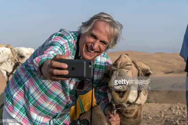 """To the Sahara and Back"""" Episode 208 -- Pictured: Henry Winkler --"""