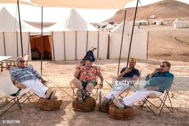 NEVER 'To the Sahara and Back' Episode 208 Pictured Henry Winkler Terry Bradshaw Jeff Dye William Shatner