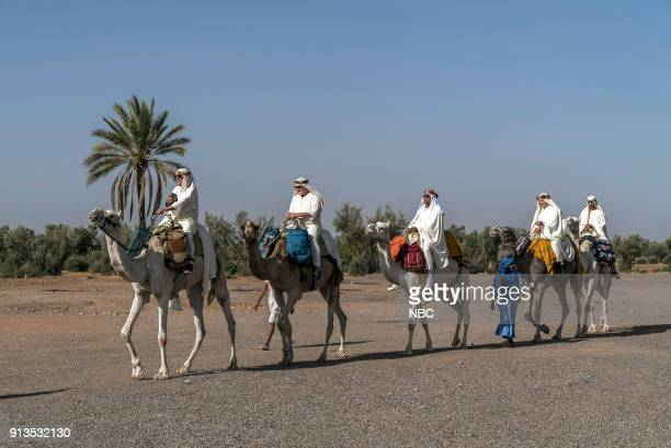 NEVER 'To the Sahara and Back' Episode 208 Pictured Henry Winkler Terry Bradshaw George Foreman William Shatner Jeff Dye
