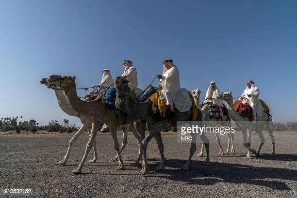NEVER 'To the Sahara and Back' Episode 208 Pictured Henry Winkler Terry Bradshaw William Shatner Jeff Dye George Foreman