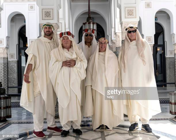 NEVER 'To the Sahara and Back' Episode 208 Pictured Jeff Dye William Shatner George Foreman Henry Winkler Terry Bradshaw