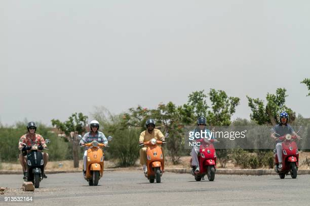 NEVER 'To the Sahara and Back' Episode 208 Pictured Terry Bradshaw Henry Winkler George Foreman William Shatner Jeff Dye