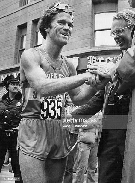MAY 8 1978 MAY 10 1978 To The Victor Goes The Spoils In This Case A Laurel Wreath Skip Houk of Reno Nev smiles as he accepts congratulations after...