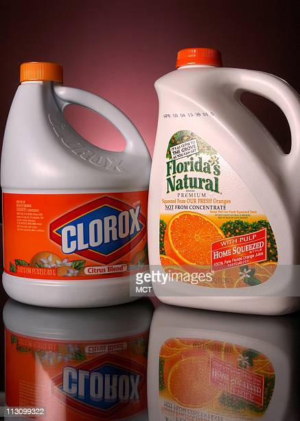 To toddlers who can't read a white plastic bottle of citrusscented Clorox bleach with a sliced orange on its label is hard to distinguish from a...