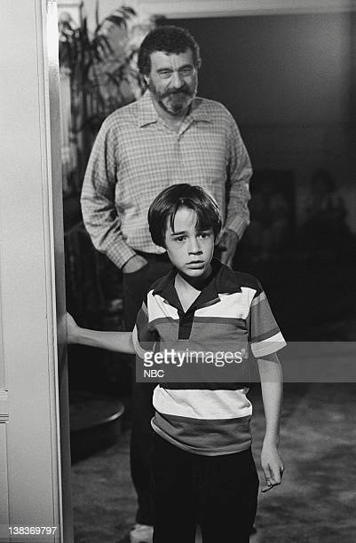 HEAVEN To Touch the Moon Episode 3 Pictured Victor French as Mark Gordon Barret Oliver as Arthur Nealy