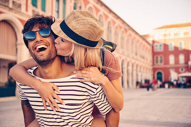 to travel is to follow your bliss - couples romance stock pictures, royalty-free photos & images