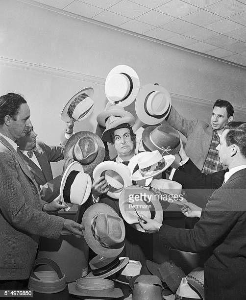To wear or not to wear a summer hat That was the question After due deliberation Sid Caesar master of pantomime and a man of a million moods...