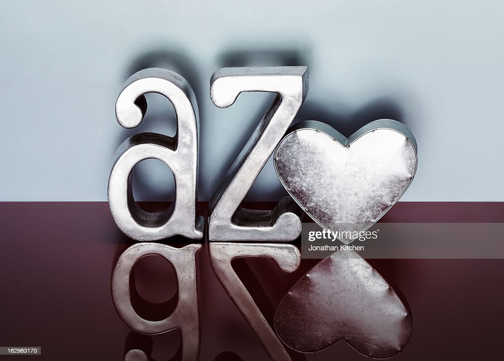 A To Z Of Love Stock Photo - Getty Images
