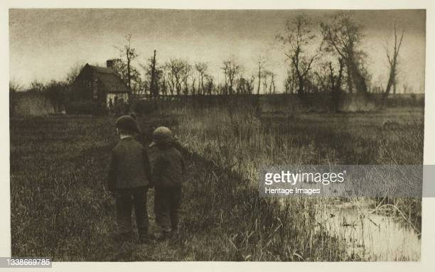 Early Spring in Norfolk, circa 1883/87, printed 1888. A work made of photogravure, pl. Xxvii from the album 'pictures of east anglian life' . Artist...